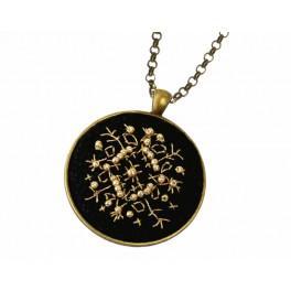 Medalion - Złota gwiazdka