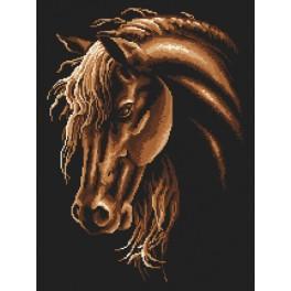 Wzór graficzny online - Koń w sepii