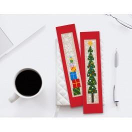 ZU 8868 Zestaw do haftu - Zakładki świąteczne I