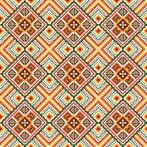 Zestaw z muliną i poszewką – Poduszka -Kolorowe kwadraty