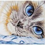 Zestaw z muliną - Szafirowe oczy