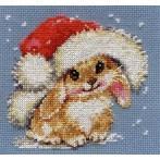 Zestaw z muliną - Zimowy króliczek