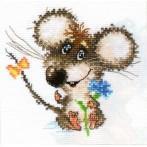 Zestaw z muliną - Zakochana myszka