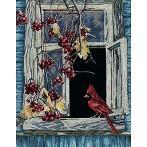Zestaw z muliną - Stare okno