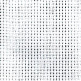 AIDA 64/10cm (16 ct) 15x20 cm biała