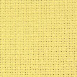 AIDA 54/10cm (14 ct) 20x25 cm żółta