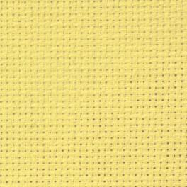 AIDA 54/10cm (14 ct) 15x20 cm żółta