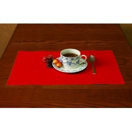 Serwetka Aida 45x30 cm czerwona