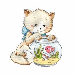 Wzór graficzny - Igraszki z rybką