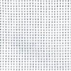 Obrus Aida z koronką 90x90 cm biały