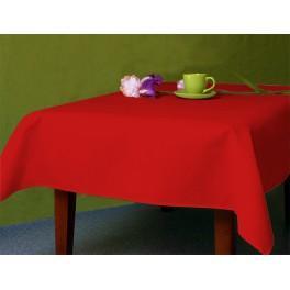 Obrus Aida 110x160 cm czerwony