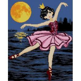 Wzór graficzny - Baletnica