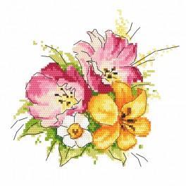 Wzór graficzny - Wiosenny bukiecik