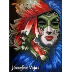 Kanwa z nadrukiem - Maska