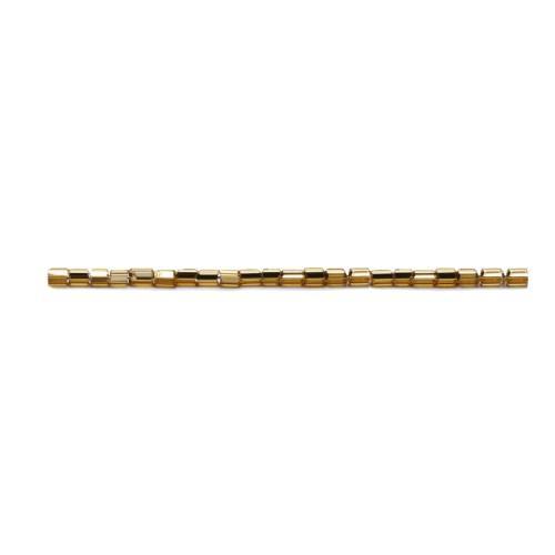 Koraliki Preciosa z metaliczną wkładką Bugles (1 x 2mm)