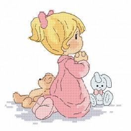 Zestaw z muliną - Modlitwa dziewczynki