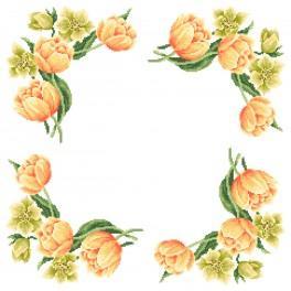 Wzór graficzny online - Serwetka - Barwy wiosny