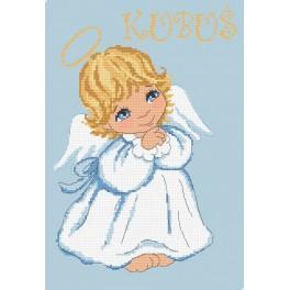 Wzór graficzny - Aniołek dla chłopczyka