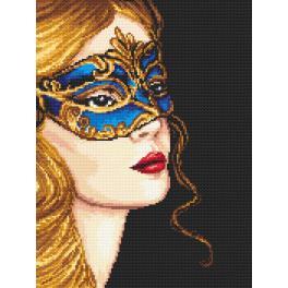AN 4387 Aida z nadrukiem - Tajemnicza złotowłosa