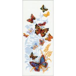 Zestaw z włóczką - Rosyjskie Motyle