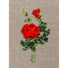 Zestaw wstążeczkowy – Róża