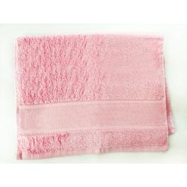 Ręcznik frotte różowy 40x60 cm