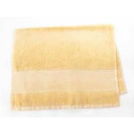Ręcznik frotte żółty 40x60 cm