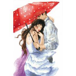 Zestaw z muliną - Para pod parasolem