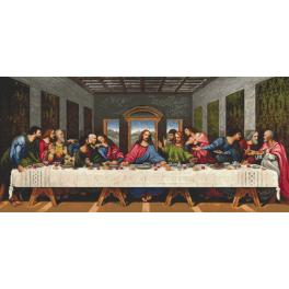 Z 8916 Zestaw do haftu - Ostatnia Wieczerza - L. da Vinci