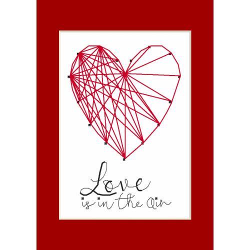 Wzór graficzny – Kartka okolicznościowa - Serce
