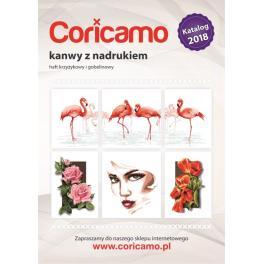 Katalog kanwy z nadrukiem Coricamo 2018
