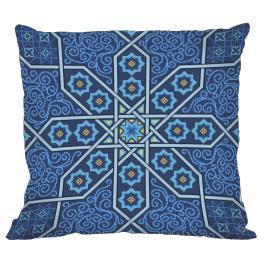 Wzór graficzny - Poduszka marokańska II