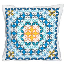 Wzór graficzny - Poduszka marokańska V