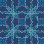 Wzór graficzny – Obrus marokański II