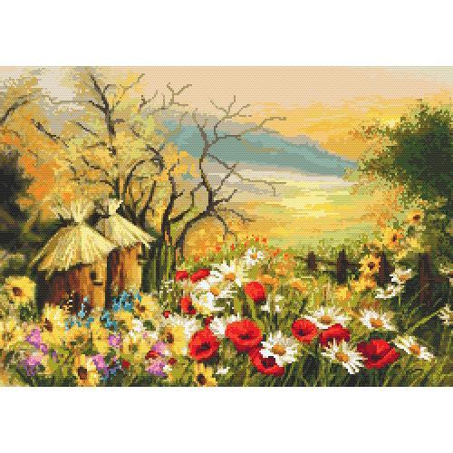 Zestaw z muliną - Ogródek z ulami
