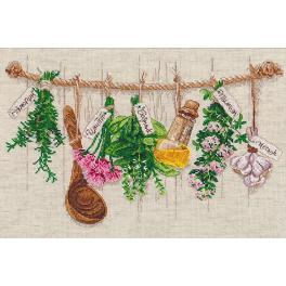 Zestaw z muliną - Pachnące zioła