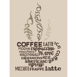 W 8921 Wzór graficzny online - Cup of coffee