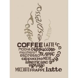 Z 8921 Zestaw do haftu - Cup of coffee