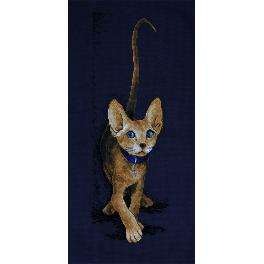 Zestaw z muliną - Kot - Złoty Sfinks