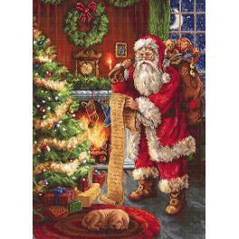 Zestaw z muliną - Święty Mikołaj