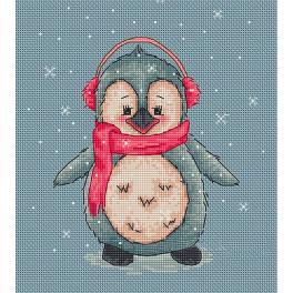 Zestaw z muliną - Pingwinek Loly