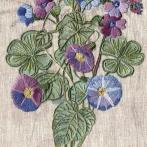Zestaw do haftu ze ściegiem typu crewel i specjalnymi szwami - Fantazja polnych kwiatów