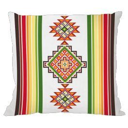 Wzór graficzny - Poduszka meksykańska I