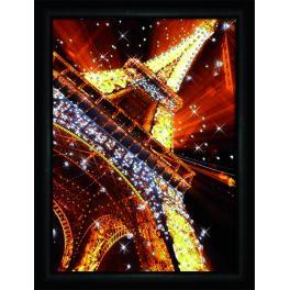 Zestaw do diamond painting - Światła Paryża