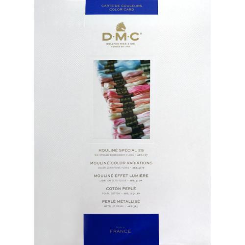 Wzornik kolorów firmy DMC