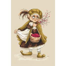 Zestaw z muliną - Lady troll