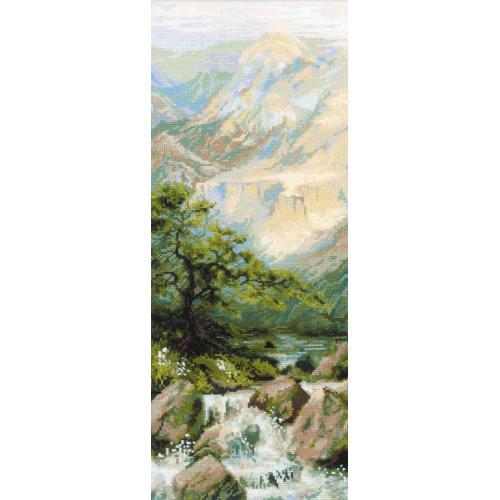 Zestaw z włóczką - Górska rzeka