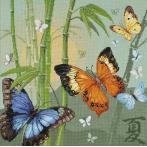 Zestaw z muliną - Motylki
