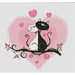 OV 1021 Zestaw do haftu - To jest miłość!