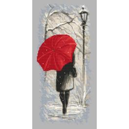 Wzór graficzny online - Zimowy spacer